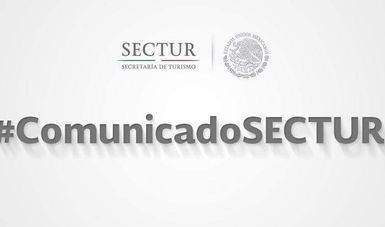 Comunicado SECTUR