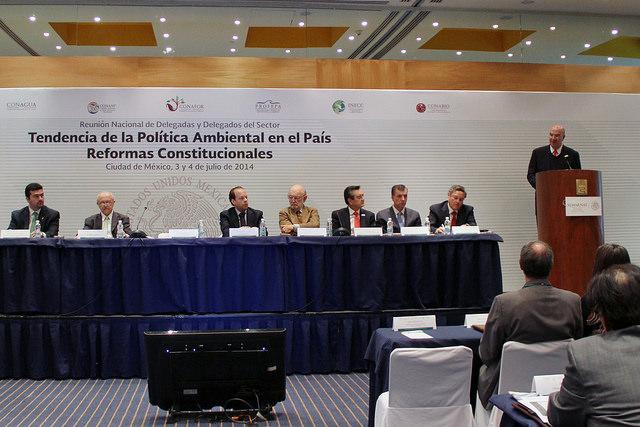 """I Reunión Nacional de Delegados del Sector Ambiental """"Tendencias de la Política Ambiental en el País–Reformas Constitucionales"""""""