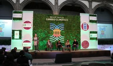 Presentación del Atlas Nacional de Vulnerabilidad al Cambio Climático en el Tercer Encuentro Nacional México ante el Cambio Climático.