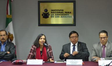Comparte INEA con ministerio de educación de Guatemala currícula para atención de sus adultos