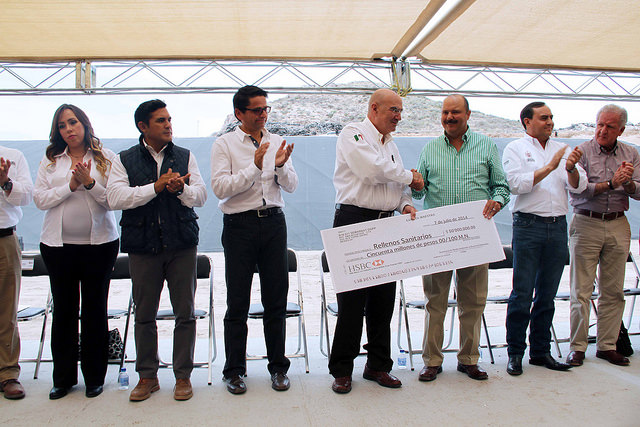 Entrega de recursos en Chihuahua a favor de la conservación y protección del medio ambiente