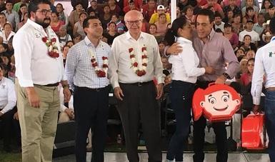 Inauguraron el primer Centro Regional de Desarrollo Infantil indígena del país, es el número 31 a nivel nacional y el segundo en el estado, pero el primero en su tipo en toda la República Mexicana.