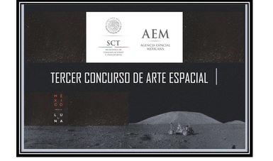 imagen horizontal del Tercer Concurso de Arte Espacial