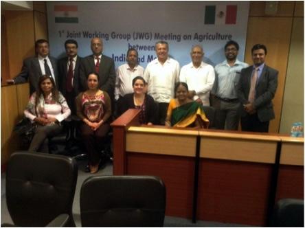Impulsan México e India cooperación científica e intercambio comercial agroalimentario
