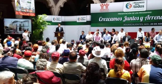 Entrega INADEM apoyos a emprendedores de Aguascalientes