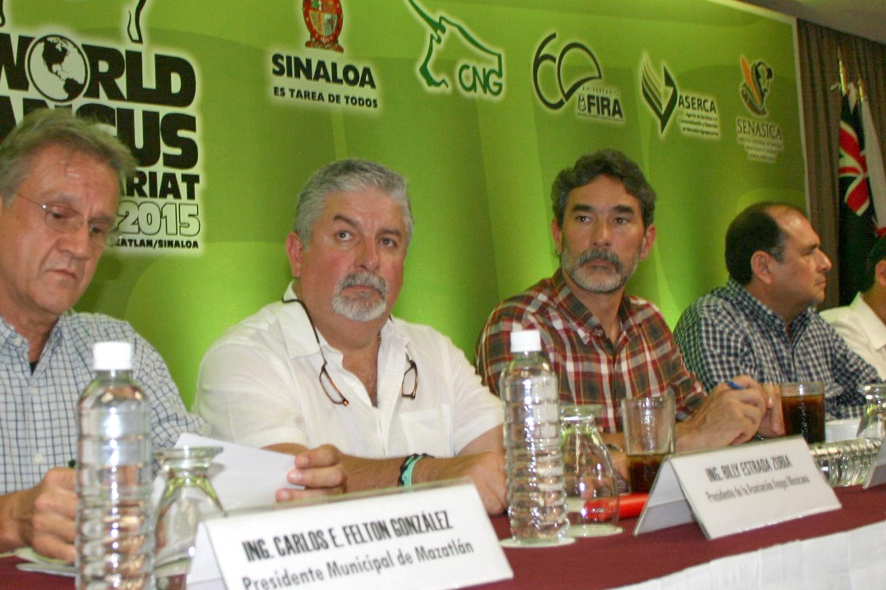 Anuncian Congreso Mundial de Angus, que se realizará en octubre próximo, en tres entidades del país: Chihuahua, Durango y Sinaloa.