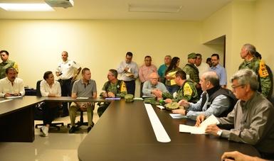 Reunión para informar de los avances en el tema del estado.