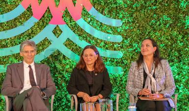 Panel con Dolores Barrientos de ONU Medio Ambiente y Marcos Regis da Silva del Instituto de Investigación del Cambio Global