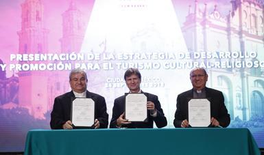 Presentación de la estrategia de desarrollo y promoción de turismo Cultural-Religioso en México