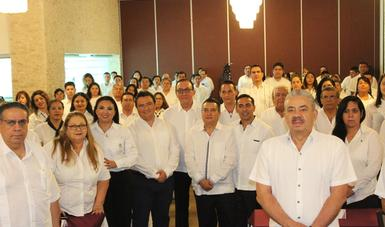 La Reunión Nacional de Administrativos se llevó a cabo en la ciudad de Campeche, del 24 al 26 de septiembre.