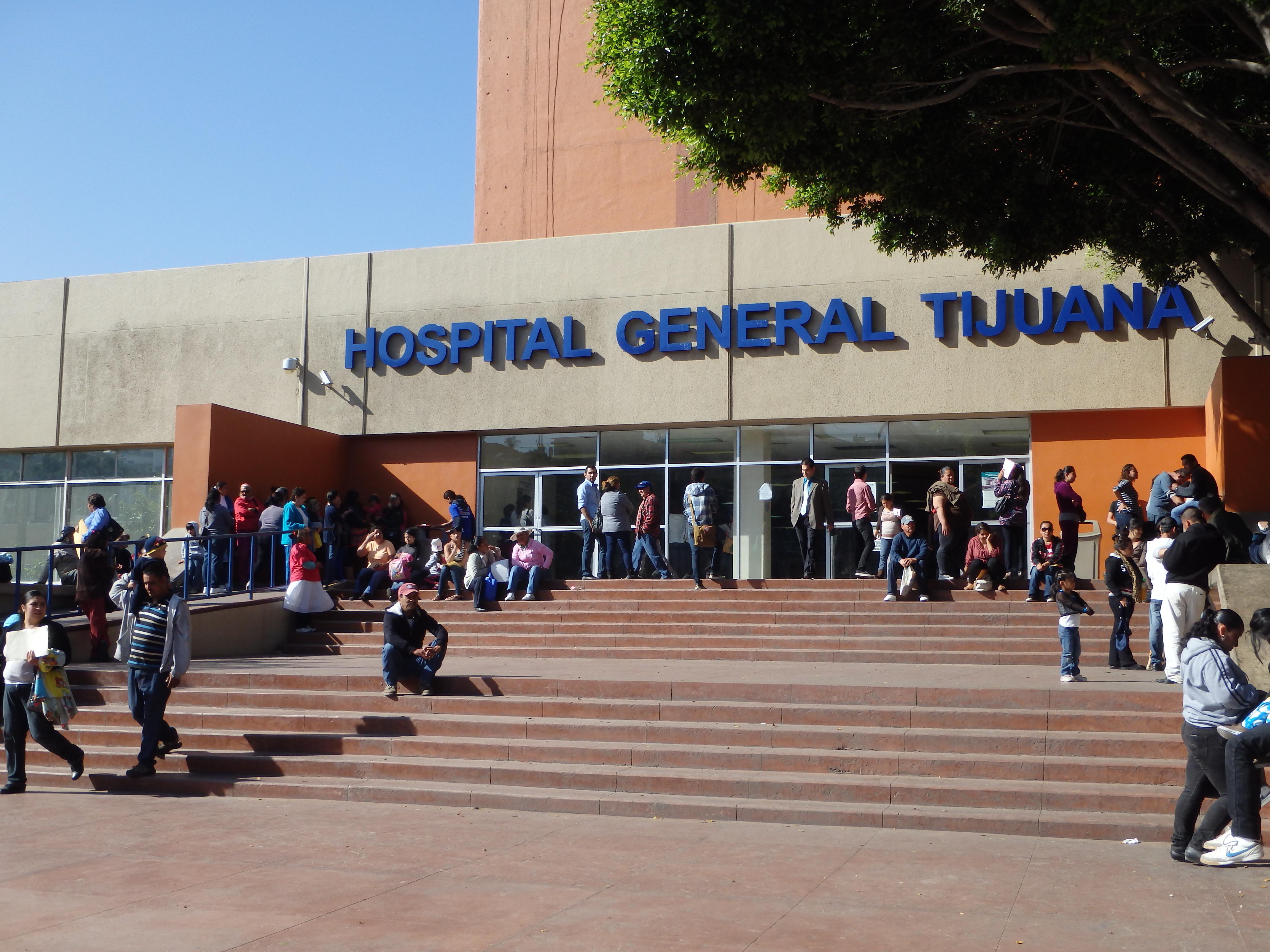 Hospital General de Tijuana.