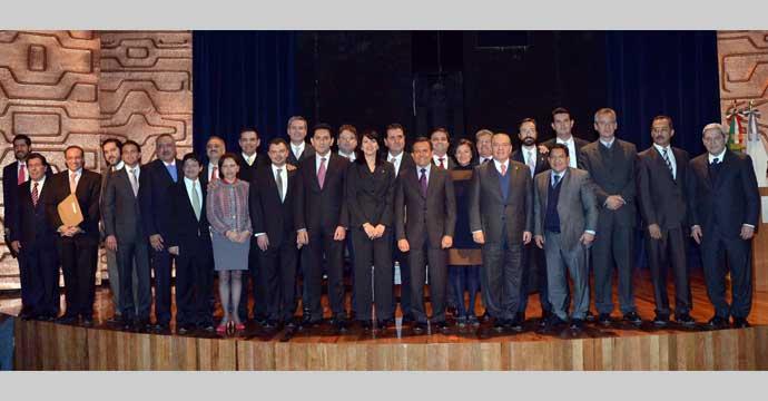 Encabeza el Secretario Ildefonso Guajardo reunión con Secretarios de Desarrollo Económico del país