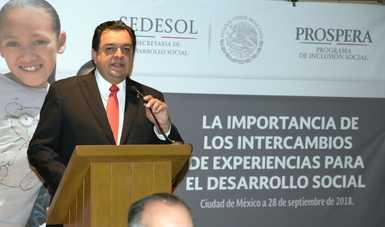 Jaime Gutiérrez Casas, Coordinador Nacional de PROSPERA
