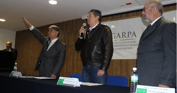 La Secretaría de Agricultura, Ganadería, Desarrollo Rural, Pesca y Alimentación (SAGARPA) designó como nuevo delegado de la dependencia en Durango a Tomás Fernando Castillo Hern.