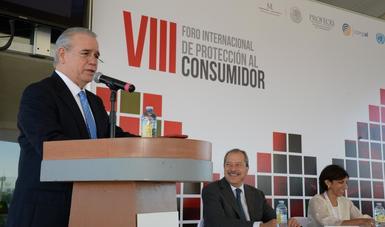 El Procurador Federal del Consumidor, Rogelio Cerda Pérez, quien fungió como anfitrión del evento, dijo que el día de mañana, 3 de octubre, la Profeco asumirá, a nombre de México, la Presidencia Pro-Tempore, en el periodo 2018-2019