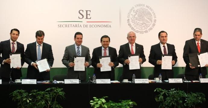 Se firma Convenio de Concertación para la Mejora Continua de Prácticas Comerciales Competitivas