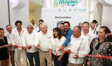La producción acuícola incide en temas de nutrición y seguridad alimentaria, señala el Comisionado Mario Aguilar, al inaugurar el Quinto Foro Nacional de Tilapia