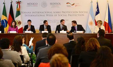 Foro de la semana internacional sobre protección social