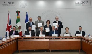 México, Reino Unido y Francia, impulsan proyectos conjuntos hasta por mil 500 millones de pesos para la formación de talento en hidrocarburos