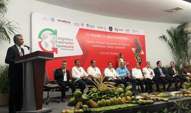 ProMéxico concreta más de 400 encuentros de negocios en Congreso de Exportación Agroindustrial de Occidente en Colima