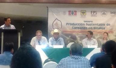 INIFAP realiza Seminario de Producción Sustentable de Garbanzo en Sinaloa
