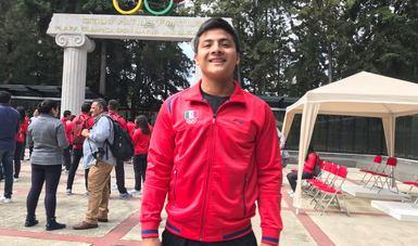 Manuel Cristofer Canul Facundo logró el tercer puesto en los Olímpicos de la Juventud en la categoría -69Kg