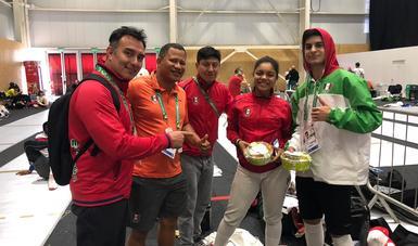 La ganadora del Premio Nacional del Deporte 2017 se colgó el bronce en sable