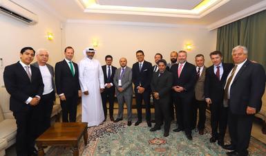ProMéxico lidera la creación del Consejo de Negocios México-Catar