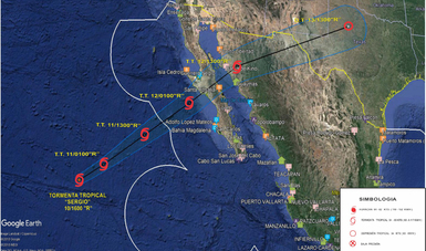 La Secretaría de Marina-Armada de México activó hoy el Plan Marina en su Fase de Prevención en los estados de Baja California, Baja California Sur, Sonora y Sinaloa