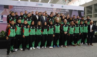 Participará en el XVIII Campeonato Mundial de Pelota Vasca, del 14 al 20 de octubre en Barcelona, España