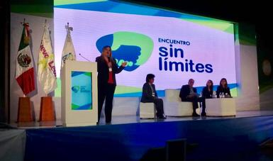 Celebran primer Encuentro Sin Límites con el tema de Envejecimiento y Adultos Mayores en la ciudad de Monterrey.