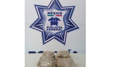 Agentes Federales aseguraron aproximadamente  2.590 kilogramos de aparente metanfetamina que tenía como destino Quintana Roo