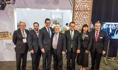 """La SAGARPA apoyó la participación de 40 empresas mexicanas provenientes de diversas entidades para asistir a la 33 edición de la exposición """"ABASTUR"""", donde alcanzaron ventas por 3.6 millones de dólares."""