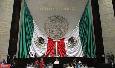 Ante los legisladores de las fracciones parlamentarias representadas en San Lázaro, informó las acciones que la SEDATU ha realizado en todo el país