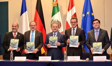 Con la presencia del Secretario de Energía, la Unión Europea entrega al Consejo Coordinador Empresarial la Propuesta de Instrumentos para Facilitar Medidas de Eficiencia Energética en el Sector Industrial