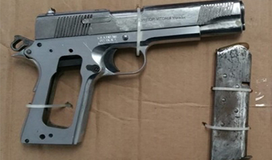 Obtiene PGR prisión justificada contra dos personas por el delito de portación de arma de fuego sin licencia, en Ciudad Obregón