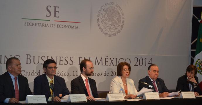 Inicia estudio Doing Business México 2014