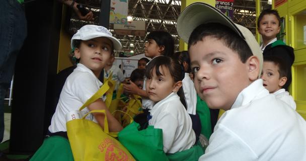 Se espera una asistencia de 60 mil visitantes, de los cuales 10 mil serán niños de más 400 escuelas públicas y privadas de nivel preescolar y primaria.