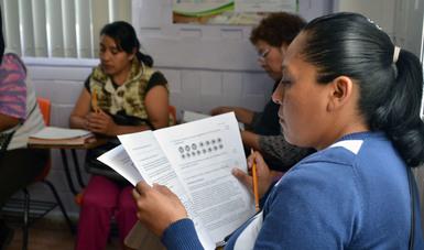 Con una meta de 16 mil personas que concluyen alfabetización, termina la tercera jornada del INEA