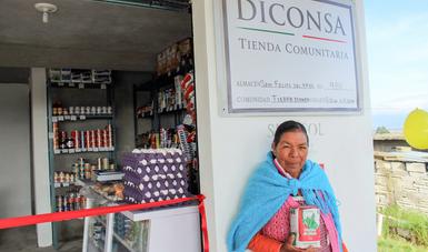 Diconsa amplía su red de abasto social en Jiquipilco, Estado de México