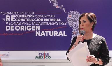 La secretaria Rosario Robles, reconoció la labor de más de 10 mil funcionarios públicos en la elaboración del censo que instruyó el Presidente de la República, Enrique Peña Nieto en las zonas afectadas por los sismos.