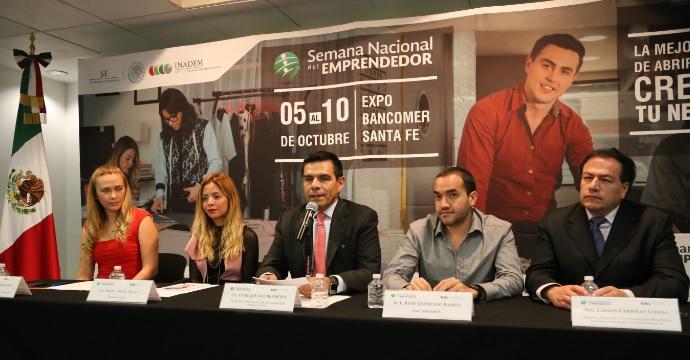 El INADEM presenta la Semana Nacional del Emprendedor 2015