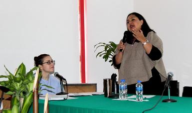 Lourdes del Carmen Morales Gómez, maestra en derecho procesal constitucional, de la Universidad Panamericana.
