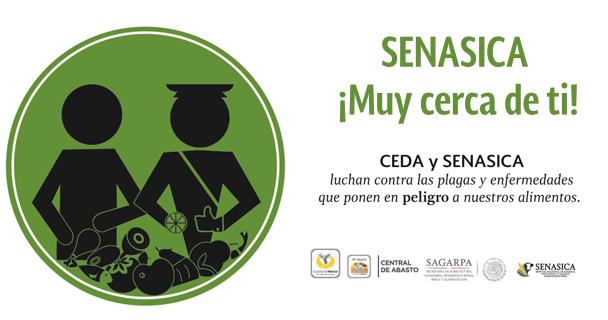 """""""Por la Sanidad e Inocuidad, SENASICA en la Central"""""""