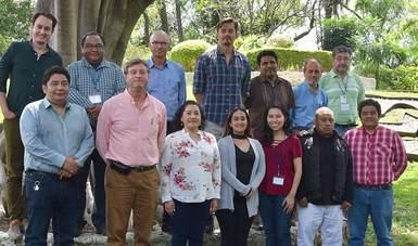 Participantes en el entrenamiento en modelación de viento a microescala mediante software WAsP y WAsP Engineering.