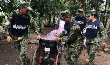 """Apoyo a la población afectada por el paso del huracán """"Willa"""""""