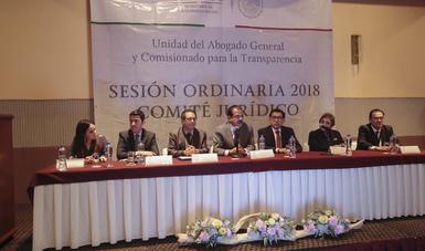 Sesión ordinaria del comité jurídico 2018