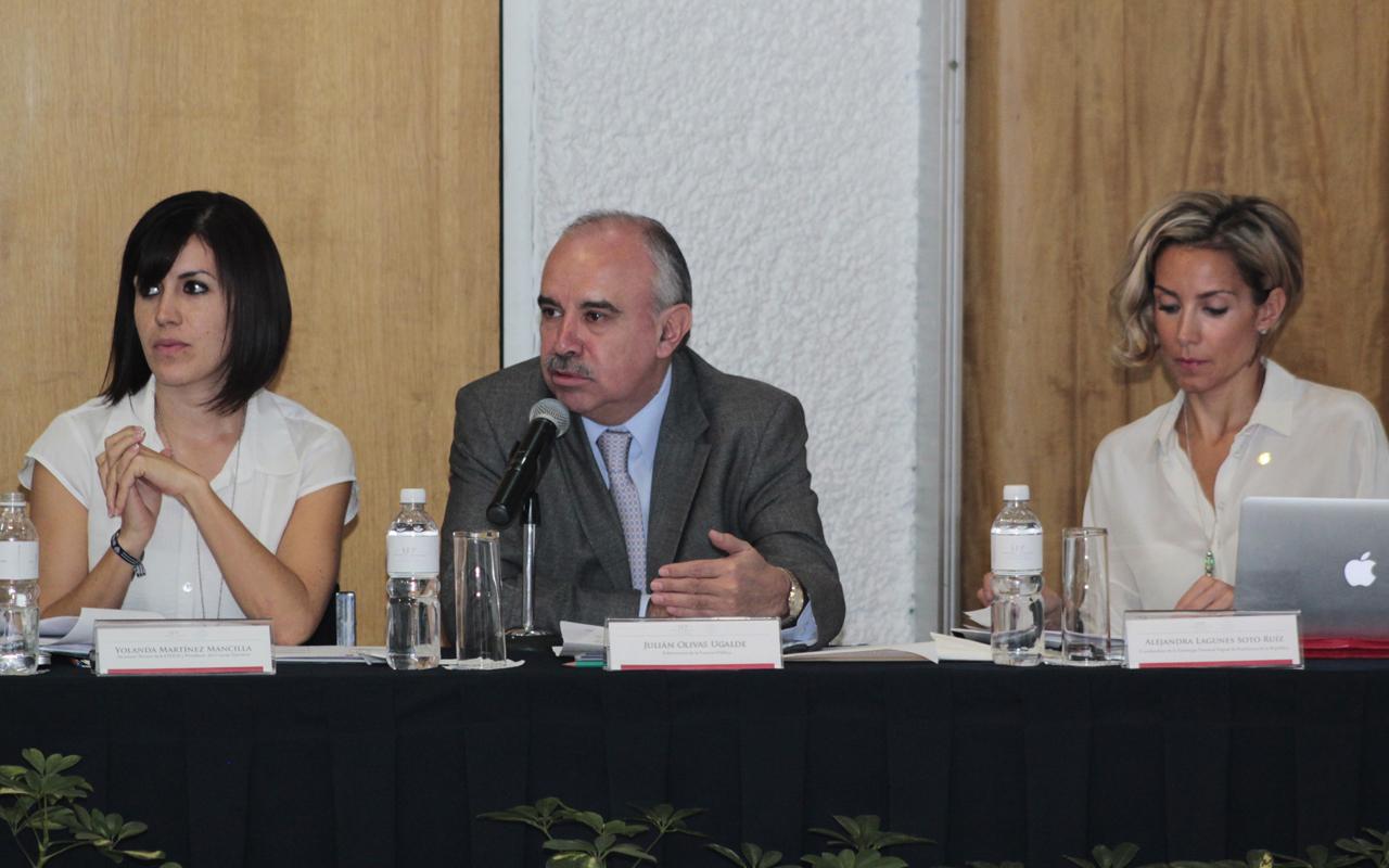 El reto es incrementar la digitalización del país, manifestó la coordinadora de Estrategia Digital de la Presidencia de la República, Alejandra Lagunes.