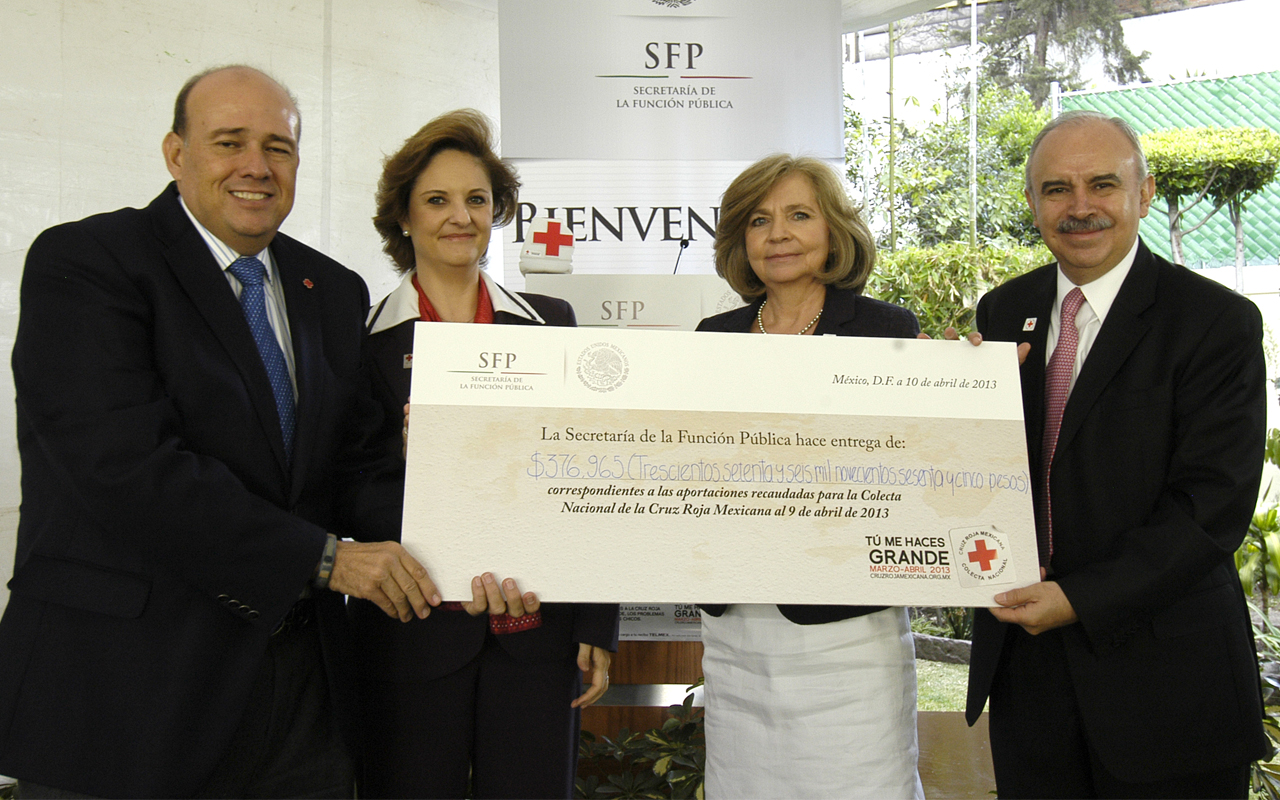 Fernando Suinaga Cárdenas, Carmen Lebrija, Celina Emilia Cárdenas Valenzuela y Julián Olivas Ugalde.