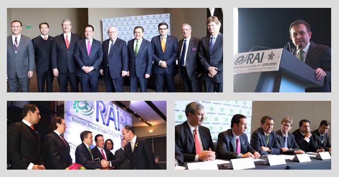 Inaugura el Secretario Ildefonso Guajardo Villarreal la Reunión Anual de Industriales 2014